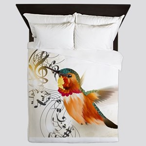 SONG BIRD Queen Duvet