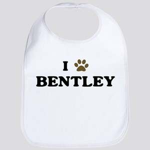 Bentley paw hearts Bib