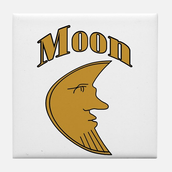 Unique Moon Tile Coaster