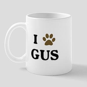 Gus paw hearts Mug