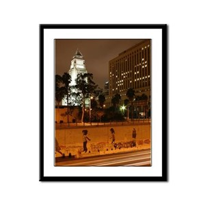 Los Angeles City Hall Panel Print