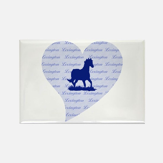 Lexington Kentucky Horse Rectangle Magnet