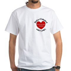 Peace, Love, Vampires White T-Shirt