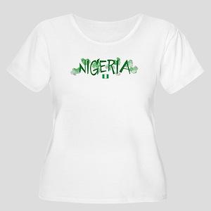 NIGERIA Women's Plus Size Scoop Neck T-Shirt