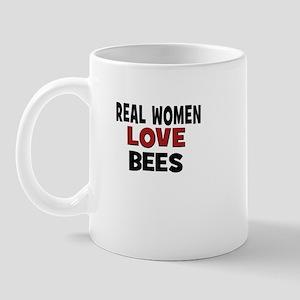 Real Women Love Bees Mug