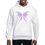 blue/ purple wings Hooded Sweatshirt