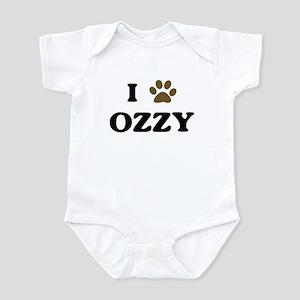 Ozzy paw hearts Infant Bodysuit