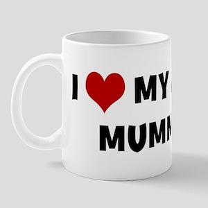 I Love My Dog Mummy Mug