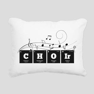 Periodic Elements: CHOIr Rectangular Canvas Pillow