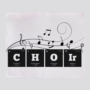 Periodic Elements: CHOIr Throw Blanket