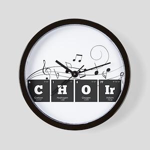 Periodic Elements: CHOIr Wall Clock