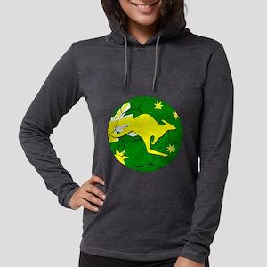 Soccerball and kangaroo Long Sleeve T-Shirt