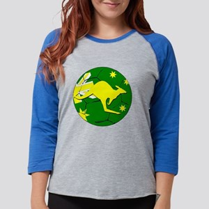 Soccerball and kangaroo Long Sleeve T-Shirt