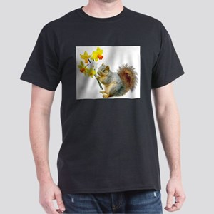 Squirrel Daffodils T-Shirt