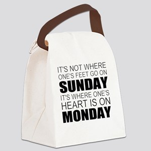 Christianity Canvas Lunch Bag