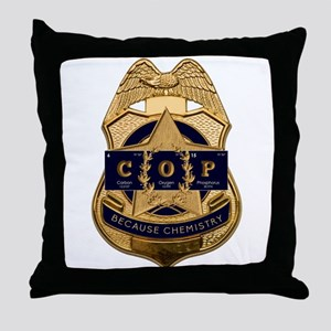 Periodic Elements: COP Throw Pillow
