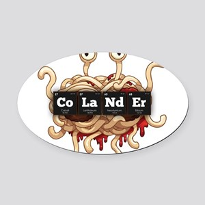 Periodic Elements: CoLaNdEr Oval Car Magnet