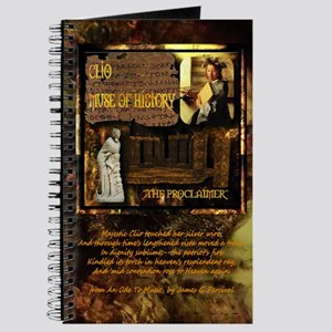 Greek Goddess Clio Journal