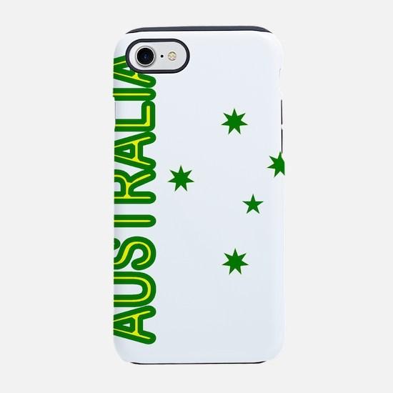 Australia Southern Cross Gre iPhone 8/7 Tough Case