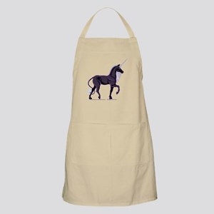 Dark Unicorn Picture BBQ Apron