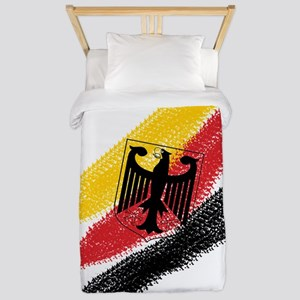 Germany Soccer Twin Duvet Cover