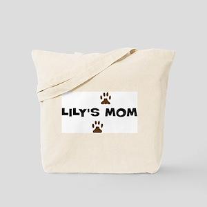 Lily Mom Tote Bag