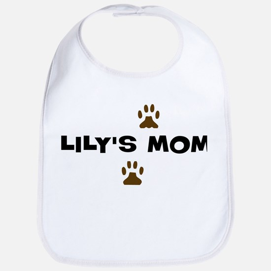 Lily Mom Bib