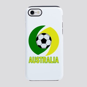 Green and Yellow Australia S iPhone 8/7 Tough Case