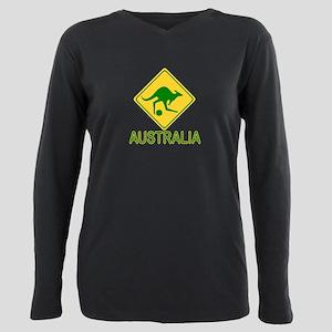 Australia soccer kangaroo T-Shirt