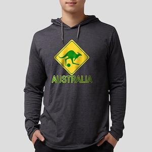 Australia soccer kangaroo Long Sleeve T-Shirt