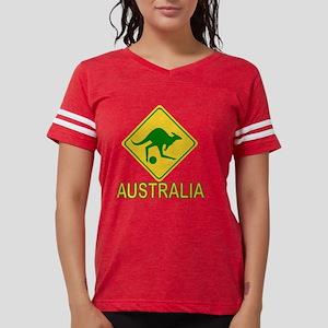 Australia soccer kangaroo Women's Dark T-Shirt