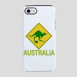 Australia Kangaroo with Socc iPhone 8/7 Tough Case
