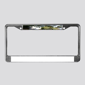 Secluded creek License Plate Frame