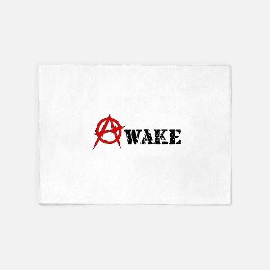 Anarchy Awake 5'x7'Area Rug