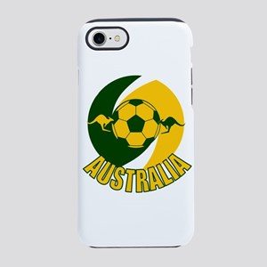 Australia soccer kangaroos w iPhone 8/7 Tough Case