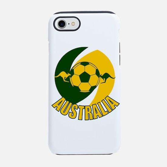 Australia soccer kangaroos w iPhone 8/7 Tough Case