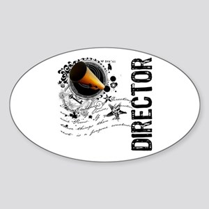 Director Alchemy Oval Sticker