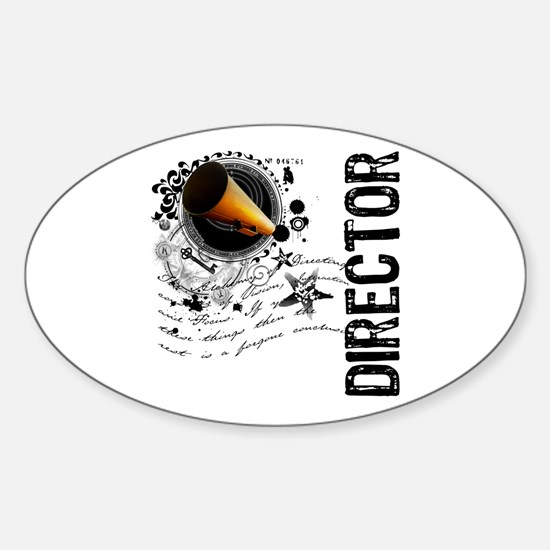 Director Alchemy Oval Decal