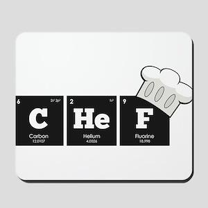 Periodic Elements: CHeF Mousepad