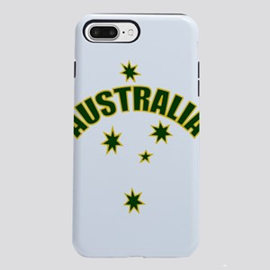 Australia Green and Yel iPhone 8/7 Plus Tough Case