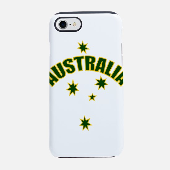 Australia Green and Yellow s iPhone 8/7 Tough Case