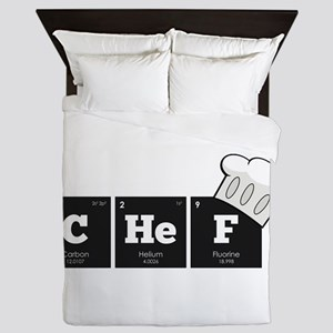 Periodic Elements: CHeF Queen Duvet