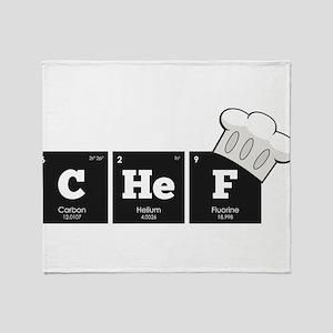 Periodic Elements: CHeF Throw Blanket