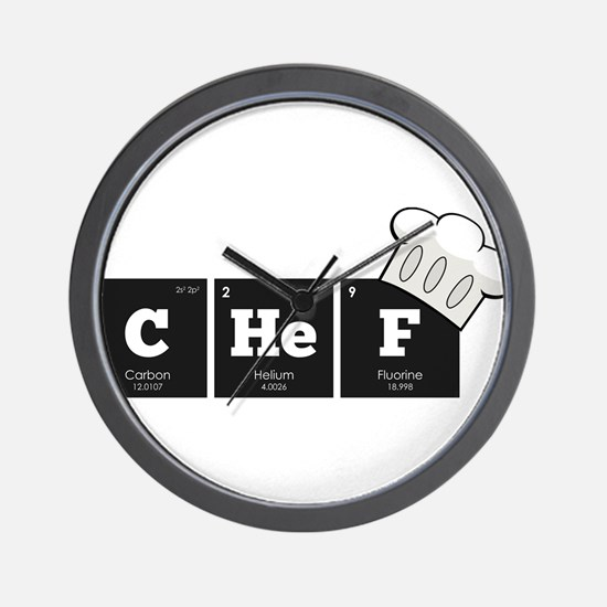Periodic Elements: CHeF Wall Clock