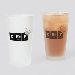 Periodic Elements: CHeF Drinking Glass