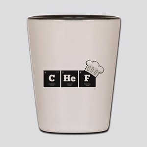 Periodic Elements: CHeF Shot Glass
