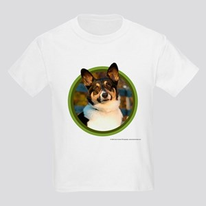 Corgi Art Kids Light T-Shirt