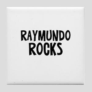 Raymundo Rocks Tile Coaster