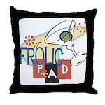 Frolic Pad Throw Pillow