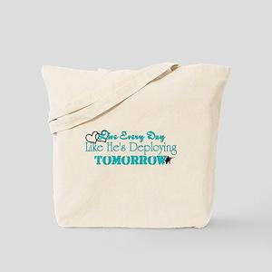 Deploying Tomorrow Tote Bag